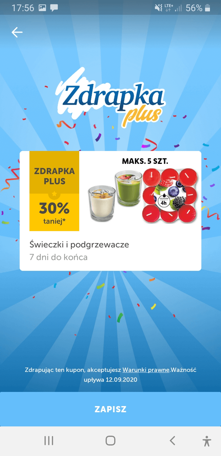 Wygrana w Zdrapce Plus